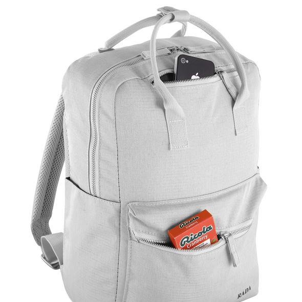 Rada Rucksack College Leisure Backpack 10l light grey