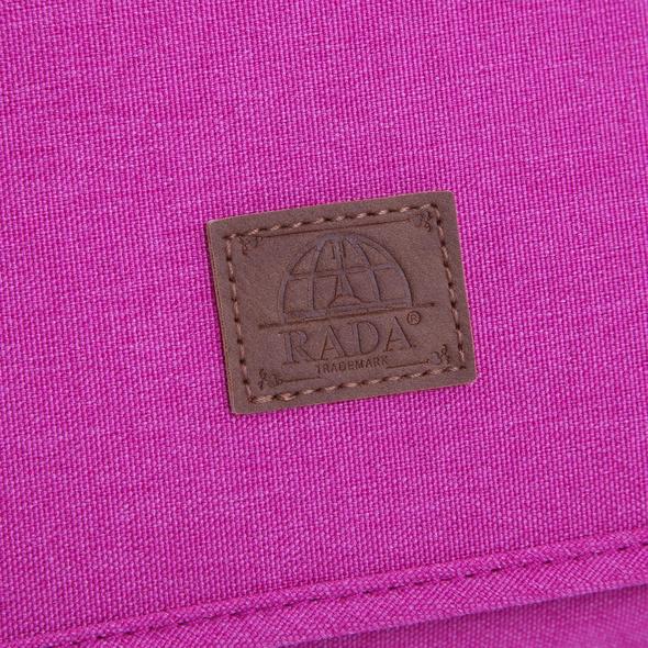 "Rada Laptoptasche CT/2/L 16"" pink 2tone cognac"