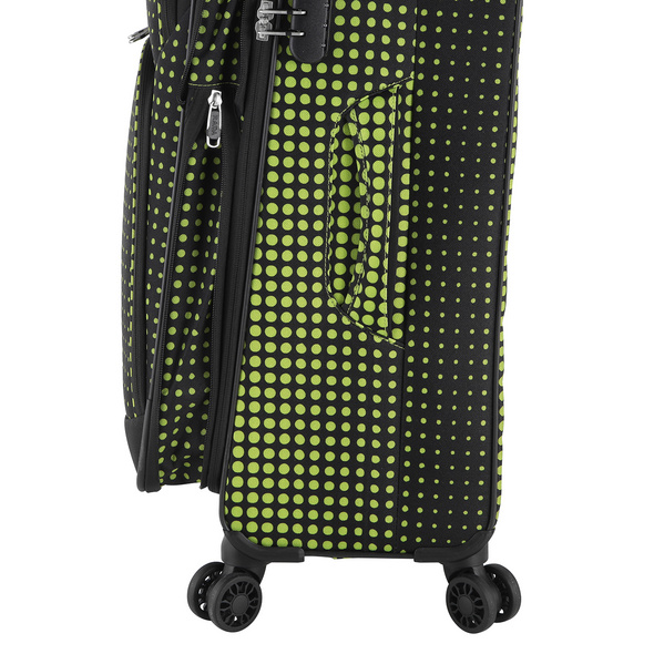 Rada Reisetrolley Rainbow T1/S 67cm lime green dots