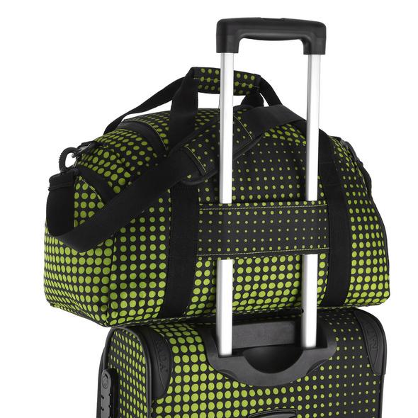 Rada Reisetasche Discover S 22l lime green dots