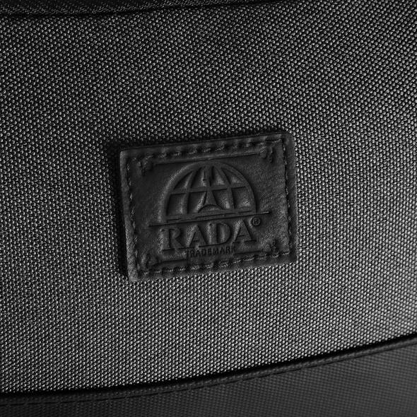 Rada Kulturbeutel Washbag Cubic KB8 anthra schwarz