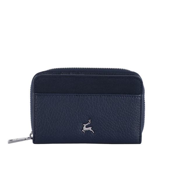 Prato Hochkantbörse Damen Joyce S907 dark blue
