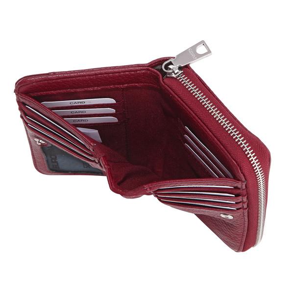 Prato Hochkantbörse Damen Joyce S907 red