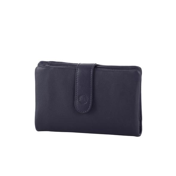 Sattlers & Co. Portemonee Damen B/75/K dunkelblau