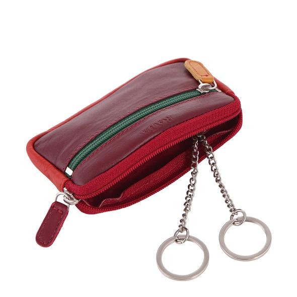 Rada Schlüsseletui D/29 rot/multicolor