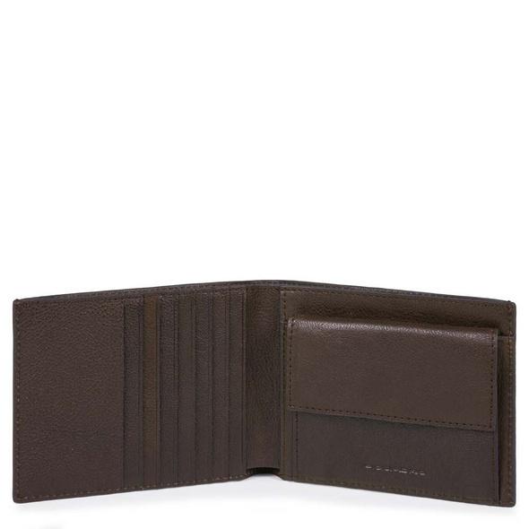 Piquadro Geldbörse dunkelbraun