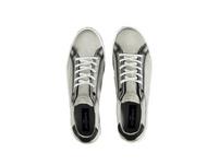 Sneaker aus softem Nubukleder