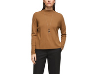 Feinstrickpulli mit Dropped Shoulders - Feinstrick-Pullover