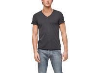 T-Shirt mit V-Neck - T-Shirt