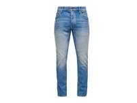 Slim Fit: Jeans mit Knopfleiste - Stretchjeans