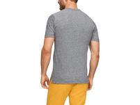 Piqué-Shirt aus Leinenmix - T-Shirt