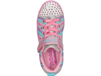 Modell: SKECHERS KIDS MÄDCHEN SNEAKER LED SPARKLE LITE - MAGICAL RAINBOWS