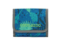 coocazoo Klettverschlussbörse CashDash tropical blue
