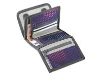 coocazoo Klettverschlussbörse CashDash purple illusion