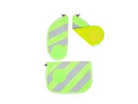 Ergobag Sicherheitsset mit Reflektorstreifen Cubo (2018) grün