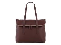 Klatta Shopper Workbag Foldtop maroon brown