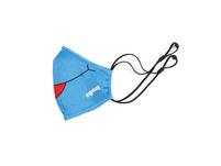 Ergobag Kinder Mund-Nasen-Maske blau