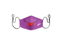 Ergobag Kinder Mund-Nasen-Maske lila