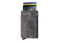 Secrid Kreditkartenetui Slimwallet vintage grey-black