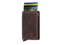 Secrid Kreditkartenetui Slimwallet vintage chocolate