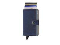 Secrid Kreditkartenetui Miniwallet indigo-5 titanium