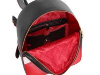 Love Moschino Damenrucksack JC4229 nero/bianco/rosso