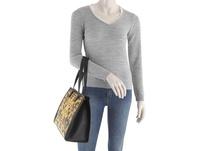 Versace Jeans Couture Shopper Linea M DIS. 4 schwarz printed