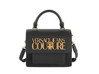 Versace Jeans Couture Kurzgriff Tasche Range L Logo Lock Sketch nero