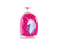 Heys Kinder Trolley Fashion Round Shape Kids Luggage unicorn