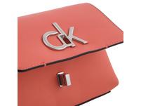 Calvin Klein Umhängetasche Re-Lock-Flap Crossbody SM light sand