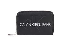 Calvin Klein Querbörse Damen Accordion Zip Around black