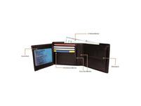 Cross Geldbörse RTC RFID in Geschenkbox 8CS dunkelbraun