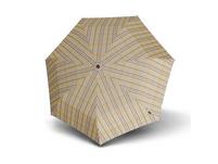 Knirps Taschenschirm Piccolo Check beige