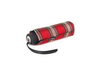 Knirps Taschenschirm Piccolo Check red