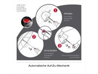 Knirps Taschenschirm T3  Duomatic balance mocca