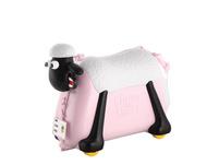 Rada Kindertrolley Shaun das Schaf Ride-on Suitcase rosa