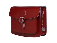 CEEVEE Leather Umhängetasche Catchall II cherry