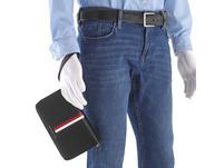 Tommy Hilfiger Querbörse Herren TH Metro Organizer Wallet schwarz