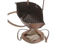 Guess Shopper Alby Toggle Tote Bag in Bag brown logo/mocha