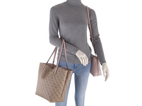 Guess Shopper Alby Toggle Tote Bag in Bag brown blush