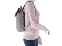 Prato Damenrucksack Hermine Flanel2tone light grey