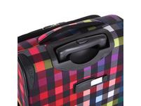 Rada Reisetrolley Rainbow T1/S 55cm multicolor check