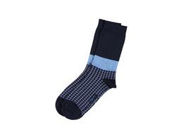 Gemusterte Socken