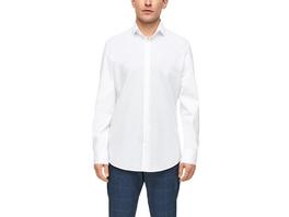 Slim: Hemd im Baumwollmix - Hemd