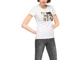 Jerseyshirt mit Frontmotiv - T-Shirt