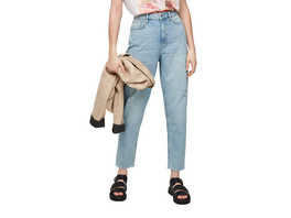 Relaxed Fit: Mom-Jeans im Used Look - Jeans