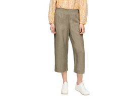 Regular Fit: Culotte aus Leinen - Culotte