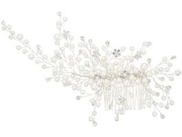 Haarkamm - Floral Pearl