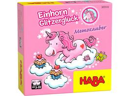 Einhorn Glitzerglück Memozauber  Kinderspiel