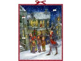 Zettelkalender - Die Weihnachtsgeschichte von Char